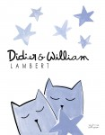 Print Babies Kittens Blue