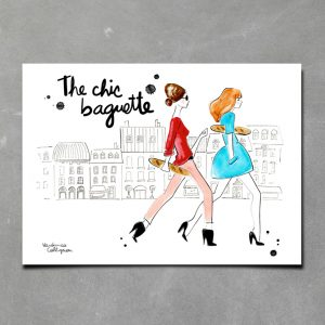 Print The Chic Baguette View